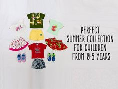Perfect summer collection for children from 0-5 years! Address: firstcry.com, Agarwal Complex, Besides Municipal Market, CG Road. Contact - 079 4030 5455 #Fashion #Clothing #KidsFashion #FirstCry #CityShorAhmedabad