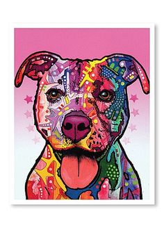 Dean Russo Dogs - Staffy