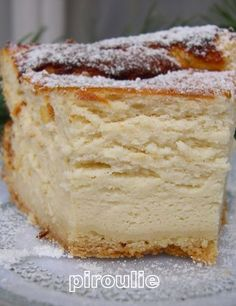 Jewish Cheesecake (Gâteau au fromage blanc juif)