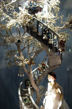 NYC: Bergdorf Goodman's 2008 Holiday window display - Calendar Girls - June by wallyg, via Flickr