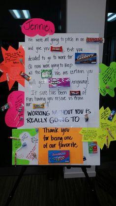 Goodbye Candy Card | ideas/diy | Candy cards, Candy ...