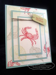 By the Seashore by Andi Potler, Independent Stampin Up Demonstrator