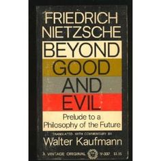 Beyond good and evil, Nietzsche