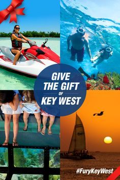 Fury Key West Gift Cards - Surprise your significant other with a soaring parasail excursion, create one-of-a-kind birthday memories aboard our Ultimate Adventure, snorkel in tranquil waters on a Key West vacation and more! Gift Cards are available for any Fury trip in any value amount desired.