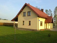 Elewacja boczna projektu  #dom #elewacja #budowa