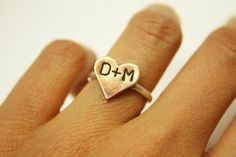 Personalized Love Ring.