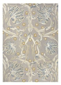 The perfect complement to contemporary aesthetics, this artful rug features a scrolling floral motif with subtle pops of color. The hand-tufted design is both luxuriously soft and durable, great for living rooms and dining rooms. Contemporary Area Rugs, Modern Area Rugs, Kathy Ireland, Hand Tufted Rugs, Neutral Colour Palette, Burke Decor, William Morris, Designer Collection, Vintage Rugs