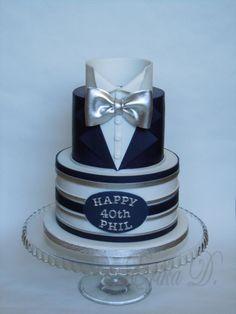 Birthday cake by Derika