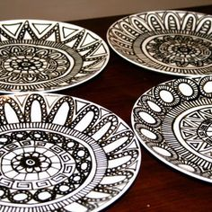 Image result for dinnerware sets black and white