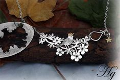 Beautiful handmade jewelry from repurposed and recycled flatware, antique cutlery, silver spoons and forks.  Created by Hairy Growler Jewellery, Cambridge, UK.