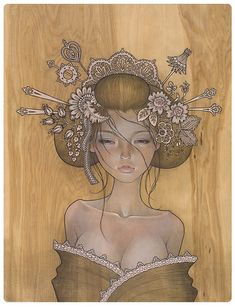 Audrey Kawasaki - BOOOOOOOM! - CREATE * INSPIRE * COMMUNITY * ART * DESIGN * MUSIC * FILM * PHOTO * PROJECTS