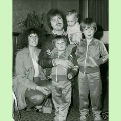 Merrill & Mary Osmond & their sons