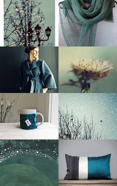 Teal to You, featuring beautiful winter finds