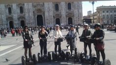 find the picture of your #segway experience and share it! #milan #experience