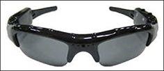 KJB Security DVR260 Camcorder Sunglasses - http://electmecameras.com/camera-photo-video/security-surveillance/kjb-security-dvr260-camcorder-sunglasses-com/