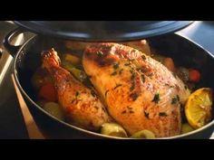 Маринованная имбирная курица с красным перцем - кулинарный рецепт