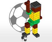 Voetballer van lego (moeilijk)