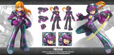 Trixie: A Theft in Tuscola: Trixie Concept by ultimatemaverickx.deviantart.com on @DeviantArt
