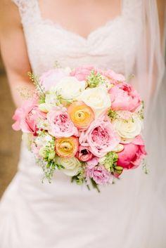 Pink Pastel Garden Bouquet by Fairynuff Flowers