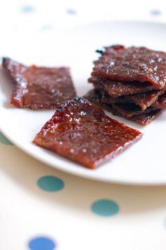 Homemade Bak Kwa (pork jerky)