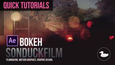 Quick Tutorials: Bokeh Animation in After Effects - http://tutorials411.com/2016/08/23/quick-tutorials-bokeh-animation-effects/