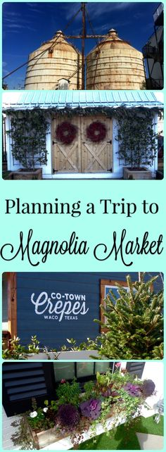 There is so much to see at Magnolia Market in Waco, TX! The bakery, feed and seed, and outdoor play area were a few of my favorite parts. Check out my full post to read more about visiting Magnolia Market!
