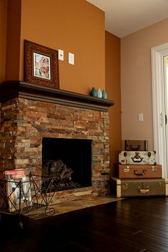 Looks like my great room fireplace but I like it with my ...