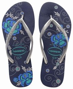 d56bf45e23f780 Havaianas Slim Organic - Navy Havaianas Beach Flip Flops