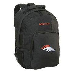 CONCEPT ONE NFL Denver Broncos Southpaw Backpack - School Supplies