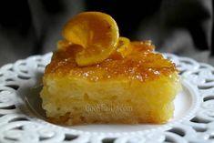karamelomenes fetes portokaliou Pudding, Desserts, Food, Flan, Postres, Puddings, Deserts, Hoods, Meals