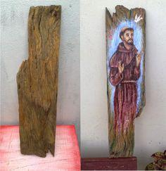 Arte Popular, Wood Creations, Christian Art, Drawings, Artwork, Christmas, Painting, Catholic Art, Religious Art