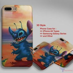 Disney Stitch and Lilo Best Friend 1 - Personalized iPhone 7 Case, iPhone 6/6S Plus, 5 5S SE, 7S Plus, Samsung Galaxy S5 S6 S7 S8 Case, and Other