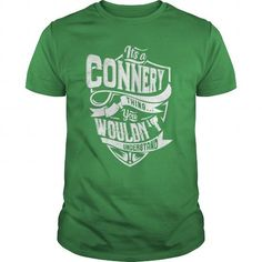 awesome CONNERY Name Tshirt - TEAM CONNERY, LIFETIME MEMBER