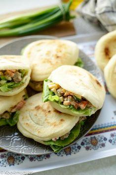 Romige gehakt salade | Kookmutsjes Lunch Snacks, Healthy Drinks, Healthy Eating, Healthy Recipes, Lunch Wraps, Tapas, Happy Foods, Fabulous Foods, High Tea