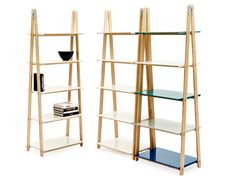 OPEN BOOKCASE ONE STEP UP BY NORMANN COPENHAGEN | DESIGN FRANCIS CAYOUETTE
