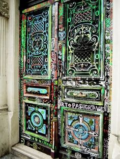 This Door Is Someone S Pageway To Artistic Expression Front Doors Art Painting