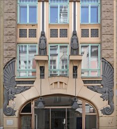 Art Deco building, Tallinn, Estonia