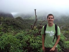 Nathaniel Weaver visited the Iao Valley. In 1790, the troops of Kamehameha fought for the unity of Hawai'i, against the army of Maui in a battle known as Kepaniwai here.