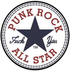Punk Rock All Star--um maybe without the profanity for my son's room...