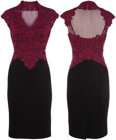 lace pencil dress <3