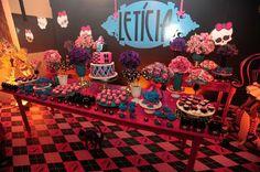 Encontrando Ideias: Festa Monster High!!!