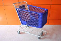 supermarket equipment plastic shopping cart trolley (YRD-S125L) (YRD-S125) - China plastic shopping cart, YRD