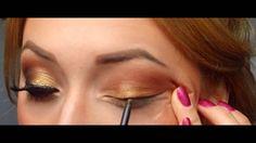 Smoky Golden Makeup Look (Greek Goddess inspired) - Special Koko Greek Makeup, Greek Goddess Makeup, Greek Goddess Fancy Dress, Greek Goddess Costume, Beauty Makeup, Eye Makeup, Hair Makeup, Hair Beauty, Goddess Halloween Costume