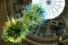 Dale Chihuly's V&A Rotunda chandelier at the Victoria & Albert Museum, London http://www.vam.ac.uk/