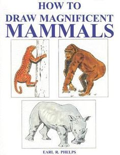 """""""Presents step-by-step instructions for drawing nearly twenty kinds of mammals from around the world, including a giraffe, an African elephant, a lion, and a polar bear, and provides a description of each animal, covering its habitat, diet and behavior."""""""