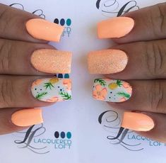 Summer Beach Nail Designs Autumn - 29 Special Summer Beach Nails Designs For Exceptional Look Beach Nail Designs, Diy Nail Designs, Simple Nail Designs, Cute Summer Nail Designs, Summer Design, Tropical Nail Designs, Bright Nail Designs, Crazy Nail Designs, Pedicure Designs