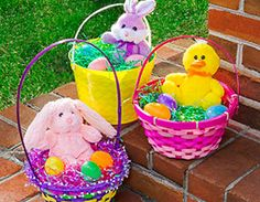 How to Create Easter Baskets Using Dollar Store Toys, Games, and Candy. Create an Easter Basket