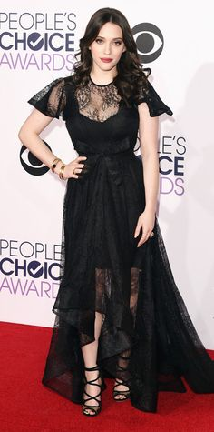 People's Choice Awards 2015: Best of the Red Carpet - Kat Dennings from #InStyle