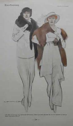 1914  coppia donne