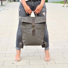 15 or Leather Backpack/ Leather bag/ Backpack/ Messenger/ Leather Rucksack/ Laptop bag/ For Her/ For Him/ Unisex/ Satchel/ White bag Khaki canvas leather backpack,. White Leather Backpack, Leather Laptop Backpack, Canvas Backpack, Laptop Bag, Backpack Bags, Leather Bag, Brown Leather, Tote Bag, Diy Bags